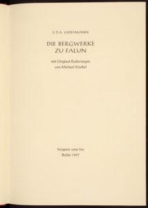 Titelblatt Falun