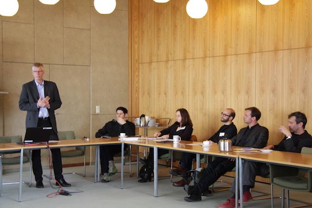 Begrüßung der Teilnehmer durch Reinhard Altenhöner