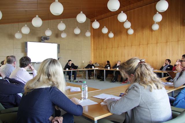 SBB Konferenzraum mit Teilnehmern