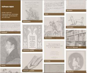 E.T.A. Hoffmann Portal: Startseite Hoffmann digital