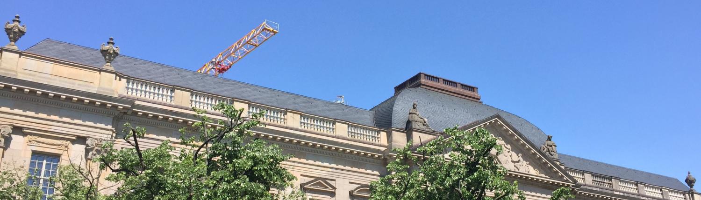 Blick auf das Haus unter den Linden Staatsbibliothek zu Berlin-PK. Lizenz: CC BY- NC-SA 4.0