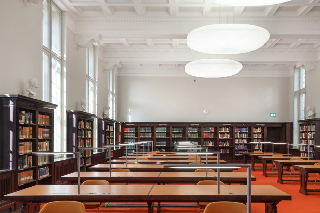 Haus Unter den Linden - Handschriftenlesesaal.
