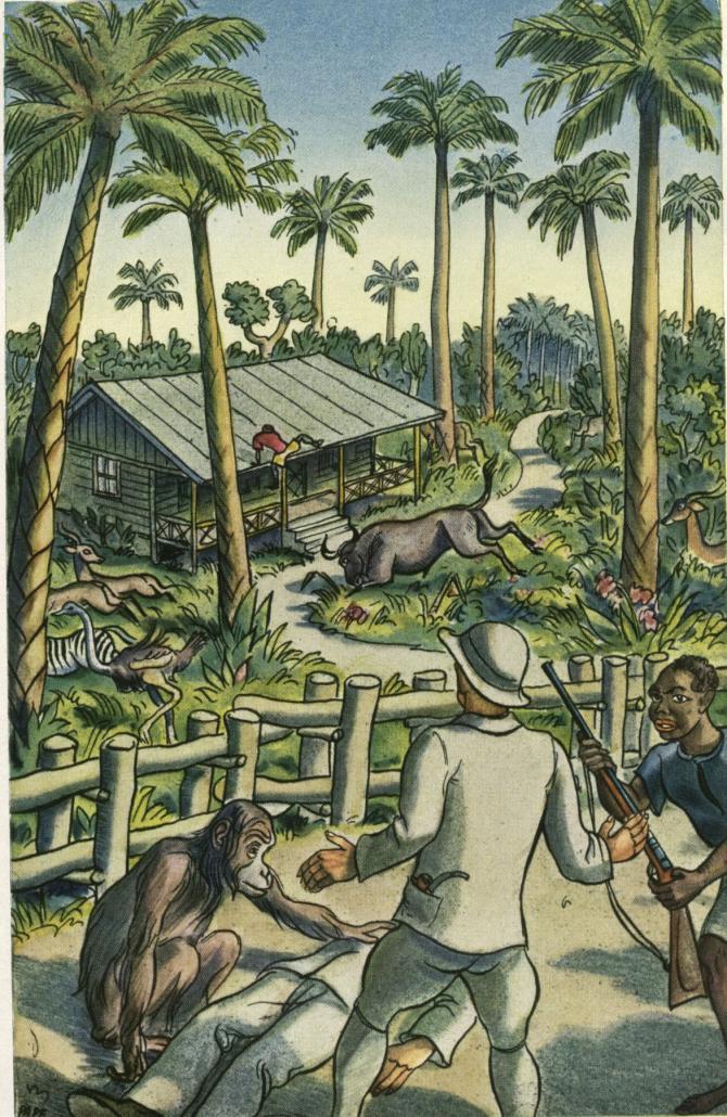 Else Morstatt (1880-1930), Hinter dem großen See. Eine Erzählung aus Deutsch-Ostafrika.