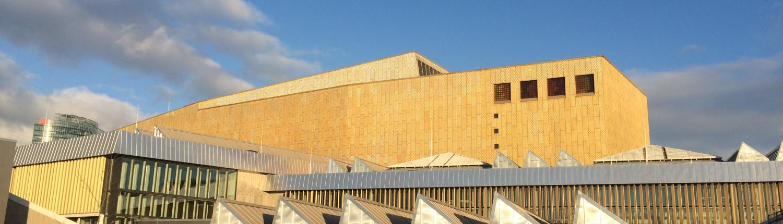 Blick auf das Haus Potsdamer Straße Staatsbibliothek zu Berlin-PK. Lizenz: CC BY- NC-SA 4.0