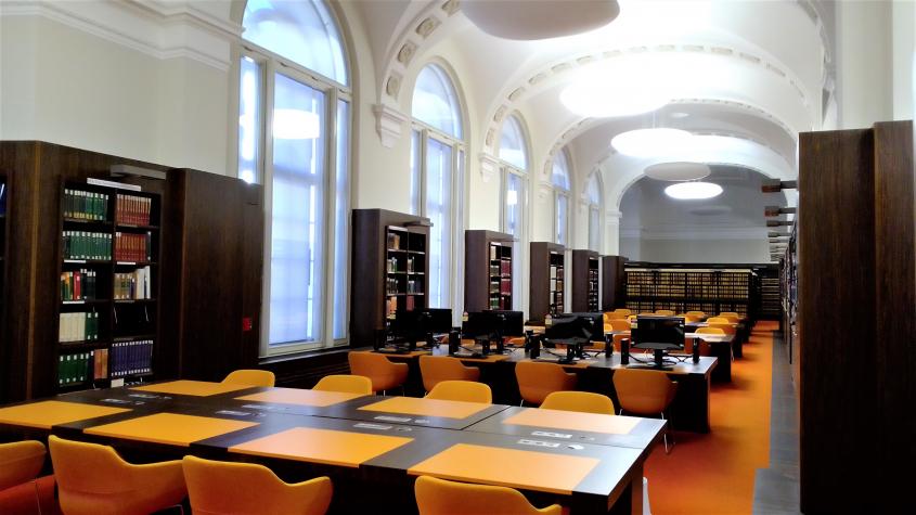 In neuer Pracht: das Informationszentrum Unter den Linden. Foto: Susanne Henschel - CC BY-SA-NC 3.0