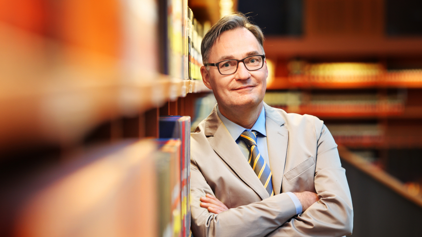 Achim Bonte, Generaldirektor der Staatsbibliothek zu Berlin, Foto: Amac Garbe
