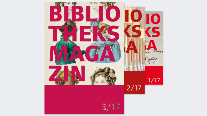 Cover des Bibliotheksmagazins 3/17