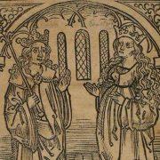 Historia. Salman und Morolf. Strassburg: Mathis Hupfuff, 1499. Bibliothekssignatur: 8° Inc 2538. Lizenz CC BY.NC.SA 3.0 Staatsbibliothek zu Berlin – PK
