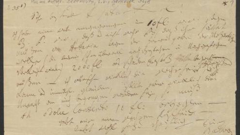 Ludwig van Beethoven an Tobias Haslinger (1787–1842)