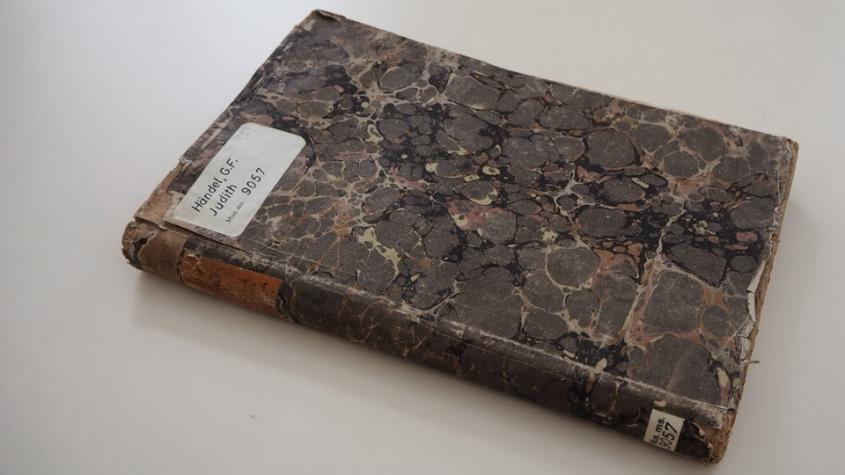 Judith, Gemahlin Kaiser Ludewig des Frommen. Opern-Pasticcio. Partiturabschrift ca. 1732-1740.