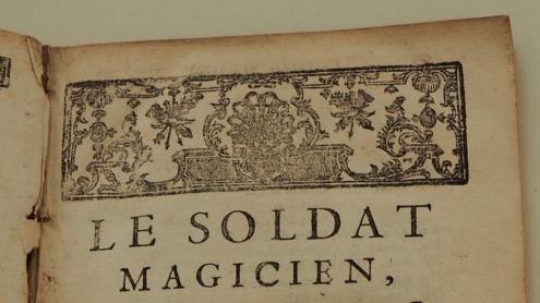 [Philidor] Danican, François-André (1726 – 1795): Le soldat magician: opéra-comique en un acte : représenté pour la premiere fois sur le Théâtre de l'opéra-comique de la foire S. Laurent, le 14. Août 1760. Verlag Duchesne, 1761.