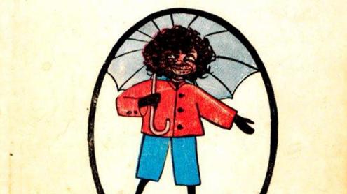 Bannerman, Helen: The Story of Little Black Sambo. - Authorized american edition. Philadelphia [usw.] : Lippincott, [um 1900].