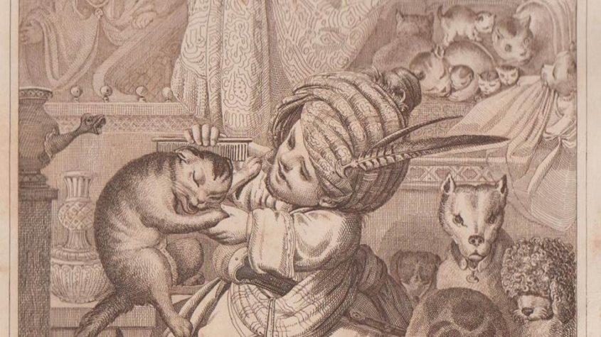 Hauff, Wilhelm: Märchen. Mit 6 Radierungen von J. B. Sonderland. 6. Auflage - Stuttgart: Brodhag, 1842. Staatsbibliothek zu Berlin - PK. Lizenz: CC-BY-NC-SA