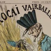 """Karikatur """"Procai vairballe"""" - aus der Sammlung Kaiser Wilhelm I. Staatsbibliothek zu Berlin - PK. Lizenz: CC-BY-NC-SA"""