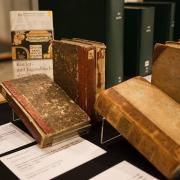 Präsentation von Buchpatenschaften beim gemeinsamen Jahresempfang der Staatsbibliothek zu Berlin und der Freunde der Staatsbibliothek zu Berlin e. V., Bild: SBB-PK