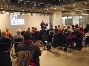 Dietrich-Bonhoeffer-Saal und Simón-Bolivar-Saal lockten an diesem Abend zeitgleich mit Veranstaltungen. - Staatsbibliothek zu Berlin-PK/S. Putjenter CC NC-BY-SA