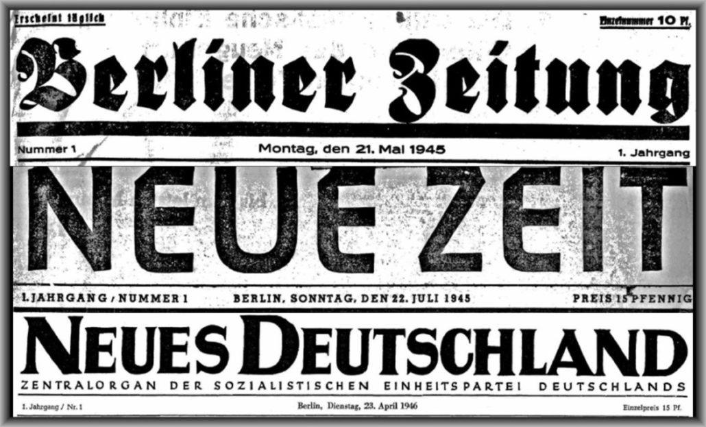 Zeitungsdaten-Websites