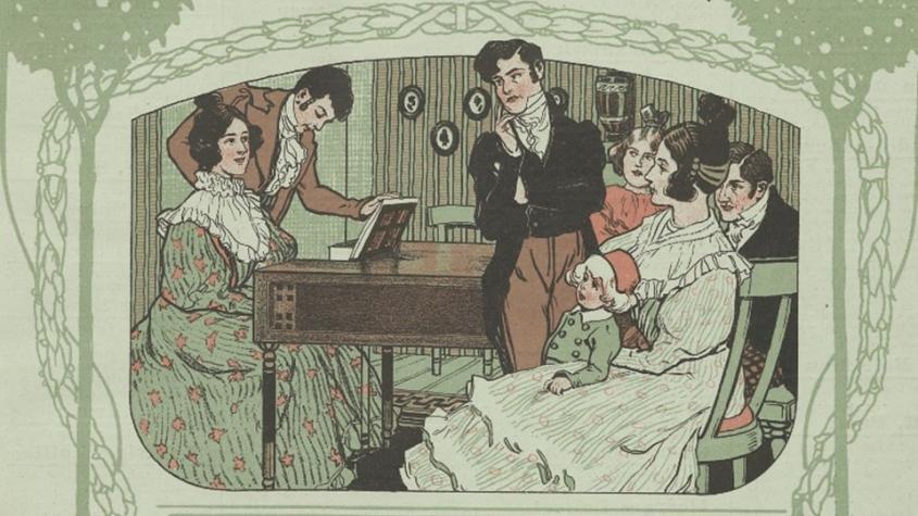 """Beethoven, Für Elise, enthalten in: """"Eine Sammlung ausgewählter Klavierstücke fürs Haus"""", Band II (C.F. Kahnt, Leipzig, 1907), DMS 49121, Lizenz: CC-BY-NC-SA-3.0"""