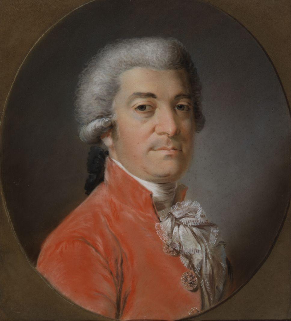 Brustbild Heinrich Friedrich von Diez, unbekannter Berliner Künstler, 1791, Pastellkreide. - © Staatsbibliothek zu Berlin, Preußischer Kulturbesitz, Fotostelle.