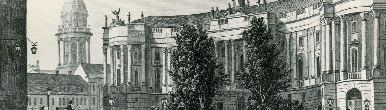 """Die """"Kommode"""" – um 1800 aus: Berlin und seine Umgebungen von Samuel H. Spiker"""