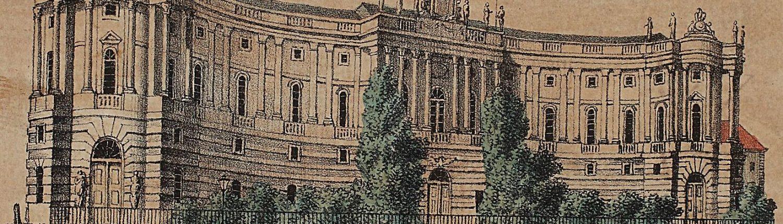 """Die """"Kommode"""" – um 1850 – aus der Einblattsammlung der SBB PK"""