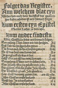 erstes evangelisches gesangbuch