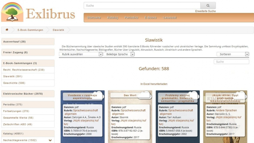 Exlibrus Slawistik