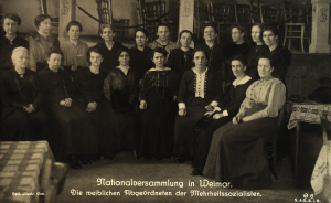 Nationalversammlung in Weimar