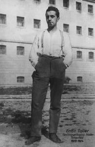 Ernst Toller (1893-1939) im Festungsgefängnis Nieder-Schönfeld 1919 - 1924