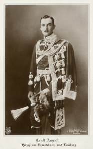 Ernst August III. in Uniform