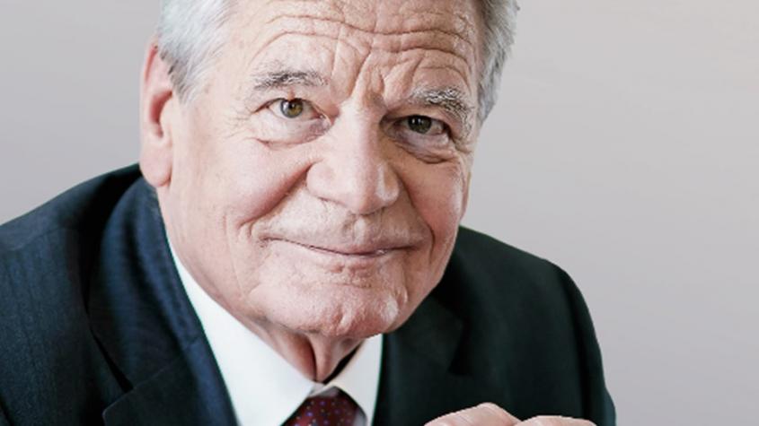 Joachim Gauck liest aus seinem Buch:
