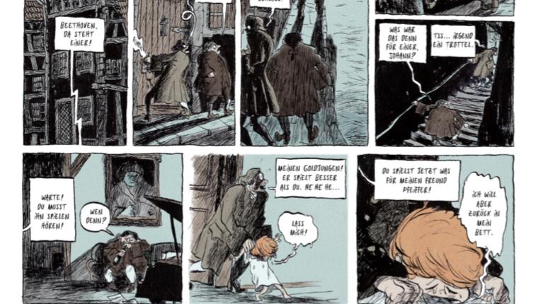 Die neue Musik - Graphic Novel von Mikael Ross - Seite 1