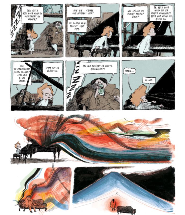 Die neue Musik - Graphic Novel von Mikael Ross - Seite 2