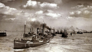 Great Yarmouth, Herring Fishing Fleet, circa 1936 | Britannica ImageQuest © Mirrorpix \ Universal Images Group