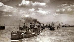 Great Yarmouth, Herring Fishing Fleet, circa 1936 | Britannica ImageQuest © Mirrorpix \ Universal Images Group