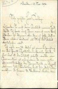 Konrad Haeblers Bericht vom 30. November 1904 über die Gründung des GW