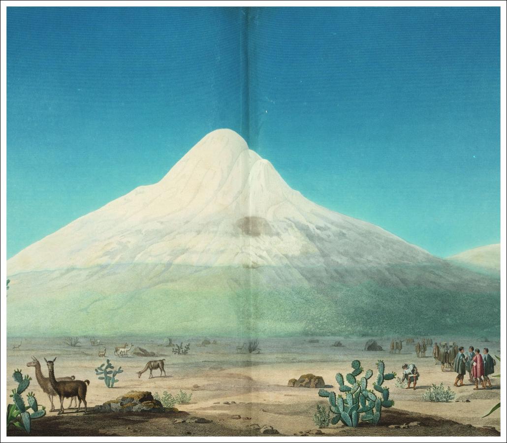 Alexander von Humboldt: Vues Des Cordilleres / Staatsbibliothek zu Berlin-PK. Lizenz: CC BY-NC-SA 4.0