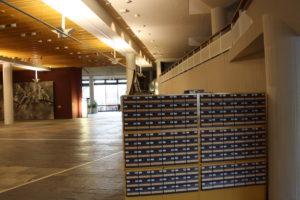 Alte Katalogschränke in der Eingangshalle/Staatsbibliothek zu Berlin-PK - C. Ricks - CC BY-SA-NC 3.0
