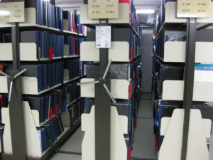 Kompaktanlage - Staatsbibliothek zu Berlin-PK - Tabea Mosolf - CC BY-SA-NC 3.0