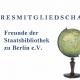 Jahresmitgliedschaft bei den Freunden der Staatsbibliothek zu Berlin e. V.