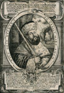 Kurfürst Johann Friedrich I. von Sachsen (1503-1554). Handschriftenabteilung. Lizenz: CC-BY-NC-SA