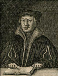 Justus Jonas (1493–1555). Handschriftenabteilung. Lizenz: CC-BY-NC-SA