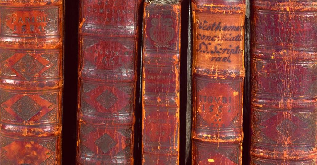 Einheitliche Bucheinbände der Churfürstlichen Bibliothek Staatsbibliothek zu Berlin-PK. Lizenz: CC BY- NC-SA 4.0