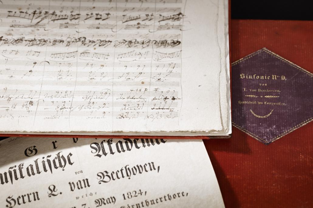 Ludwig van Beethoven, 9. Sinfonie, Impressionen der Originalhandschrift