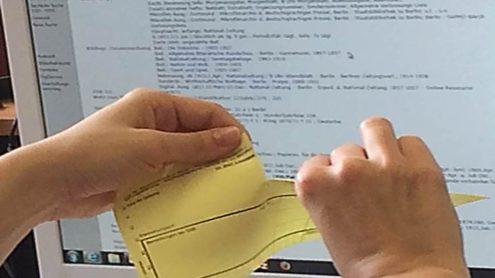 Leihschein ade - Zeitungen online bestellen - Lizenz: CC-BY-NC-SA