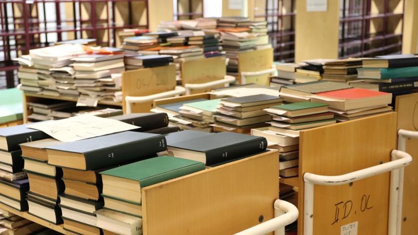 SBB Bücherwagen Haus Potsdamer Str.