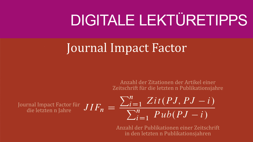 Berechnung des Journal Impact Factor
