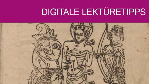 Ausschnitt aus: Wahrhaftige Arznei wider die Pestilenz. Erfurt: Hans Sporer 1494. Staatsbibliothek zu Berlin. Signatur: 8° Inc 1120 (GW 2738). Public Domain.
