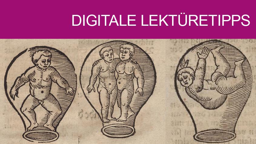 Kontaktsperre im Jahr 1562? Holzschnitte aus einem Albertus Magnus zugeschriebenen Ratgeber für alle Lebenslagen, von der Geburt (hier: mögliche Lage des Kindes) bis zur Pestepidemie