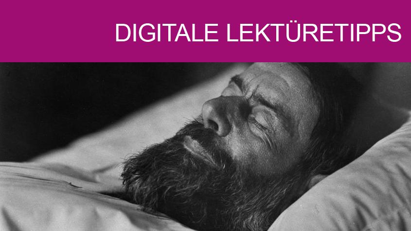 Max Weber auf dem Totenbett (1920) | © bpk